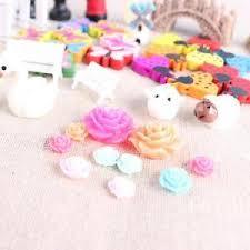 58pcs miniature ornaments kit set diy garden dollhouse