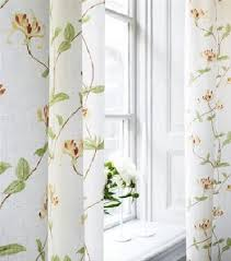 White Curtains With Yellow Flowers Elin Fabric Collection Sandberg Curtains U0026 Roman Blinds