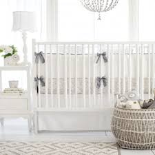 Nursery Bedding Set Gray Bunny Baby Bedding Gray Bunny Crib Bedding White And Gray