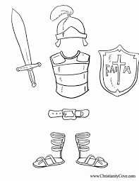 armour of god coloring page coloring pages online