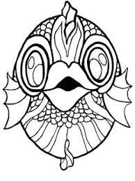 crab mask template modeller pinterest mask template crabs