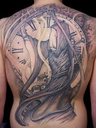 bird gears clock tattoos for women real photo pictures images