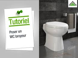 leroy merlin meuble wc comment poser un wc broyeur leroy merlin youtube