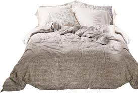 t shirt heathered jersey duvet snooze set queen decorist