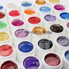 aliexpress com buy professional 36pcs mix colors pearls uv