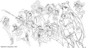 pencil drawings u0026 sketches sailor moon