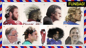 who has the best hair in sports