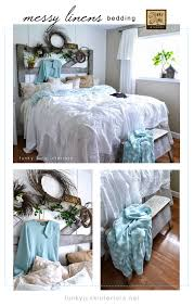 how to decorate a bedroom with messy linens funky junk