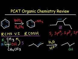 pcat organic chemistry study guide review multiple choice practice