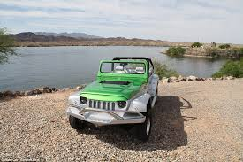 water jeep from car to boat in 15 seconds 155 000 panther car can hit the