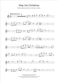 elton john step into christmas sheet music at stanton u0027s sheet