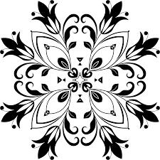 black and white flower tattoo designs clipart best tulip design