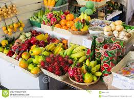 Vegetable And Fruit Decoration Fake Fruits Shop In Thailand Stock Photo Image 44927513