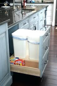 kitchen island trash bin kitchen island with trash can storage kitchen island with trash bin