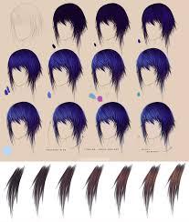 purple hair step by step brown by felicemelancholie