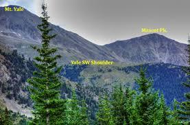 Yale Map Mascot Peak