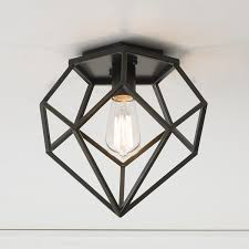 young house love geometric diamond ceiling light ceiling
