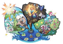 Bravely Default World Map by Pokemon Sun Moon Review Gamespot