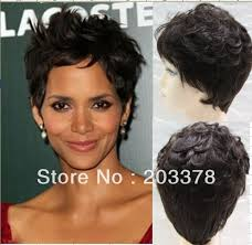 harry berry hairstyle haley berry human hair wig hair wig long