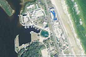 St Augustine Map Town Of Marineland Marina In St Augustine Fl United States
