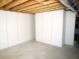 insulated basement wall panels installed in wv basement wall