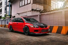 mitsubishi lancer wagon mitsubishi lancer evolution ix wagon the compromise