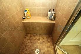 Bathroom Shower With Seat Showers With Seats Built In Bathroom Bench Seat White Subway Tile