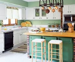 green kitchen color ideas of very fresh kitchen green walls 2017