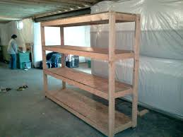 Wood Shelving Plans For Storage by Storage For Under The Basement Stairs Folding Chairs Cooler