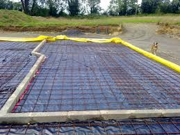 Concrete Block House Concrete Floor Slab Preparation House Self Build