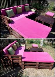 Pallet Garden Furniture Innovative Diy Ideas For Wood Pallet Reusing Recycled Things