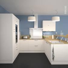 couleur cuisine blanche cuisine blanche mur gris bleu meilleur idées de conception de
