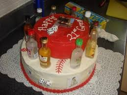 21st birthday cake the birthday boy plays baseball and was