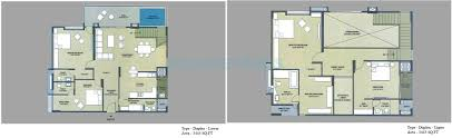 House Plan 1761 Square Feet 57 Ft by Sprrg Osian Chlorophyll In Porur Chennai Project Overview Unit