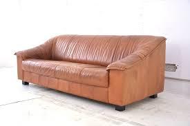 Tan Coloured Leather Sofas Vintage Swedish Tan Leather Sofa