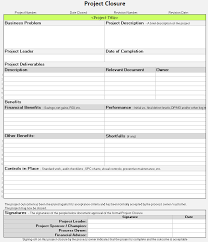 project closure template continuous improvement toolkit