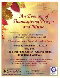 thanksgiving prayer nassau county council on aging