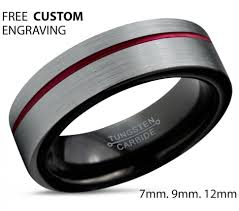 mens wedding bands titanium vs tungsten wedding rings mens tungsten carbide wedding bands titanium vs