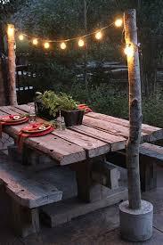 Garden Table Decor Most Beautiful Outdoor Christmas Table Setting Ideas Christmas