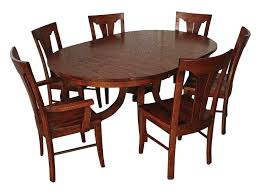 solid wood amish dining table