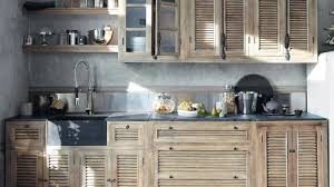 cuisine bois brut meuble haut cuisine bois brut idée de modèle de cuisine
