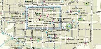 map of xi an china maps