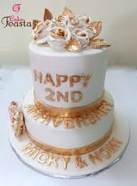 anniversary cake white golden anniversary cake customized cakes order