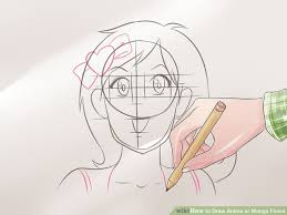 how to draw anime faces this how to draw manga