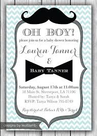 bow tie baby shower invitations mustache and bow tie baby shower invitations top collection of
