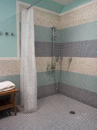penny tile bathroom ideas idolproject me