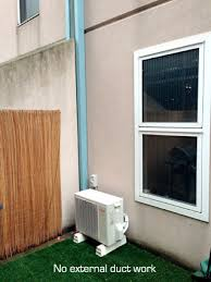 can you install air conditioners on brick walls yes find out how