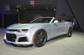 chevy camaro zr1 york 2016 chevrolet camaro zl1 coupe and convertible gtspirit