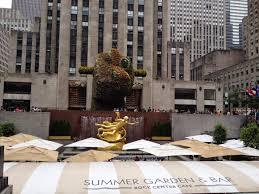 Rockefeller Center Summer Garden - following my sweet cravings through nyc 360 family nutrition