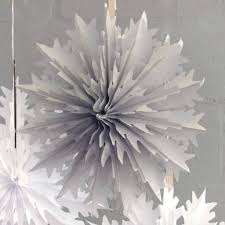 intricate christmas snowflake decoration by peach blossom